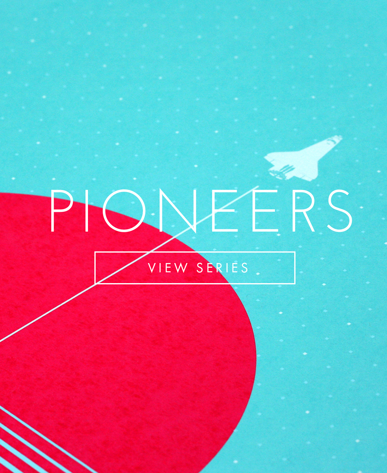 Pioneers Mobile Landing page header